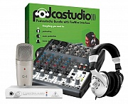 BEHRINGER PODCASTUDIO FIREWIRE